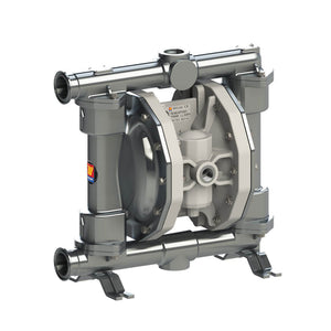 Food grade double diaphragm pumps made in Italy food stainless steel air operated and FDA approved great for dairy, beer, wine, spirit, cosmetic, chemical, fruit juice, honey, syrup, soup