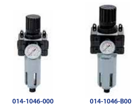PRESSURE REGULATOR, FILTER, AND GAUGE  1/4""