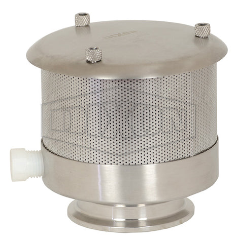 Vacuum And Pressure Relief Valves: Tri Clover 304 Stainless Steel
