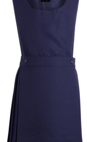 St Gabriels Catholic Primary School  Navy Bib Pinafore (Optional)