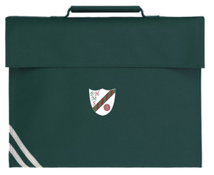 Bedford Hall Methodist Primary School Bookbag with Velcro Fastening and Logo