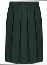 Load image into Gallery viewer, Box Pleat Elasticated Skirt Assorted Colours