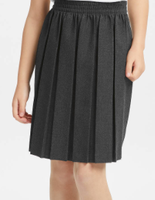 Leigh CE Primary School Grey Box Pleat (Optional)