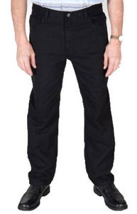 CARABOU OVER DYED BLACK REGULAR FIT JEANS