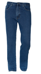 CARABOU STONE WASH REGULAR FIT JEANS