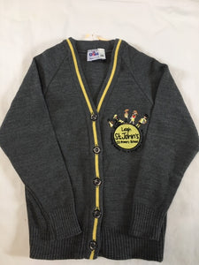 Leigh St John's CE Primary School  Knitted Cardigan with LOGO