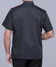 Load image into Gallery viewer, Chef Jacket Short Sleeve Black or White