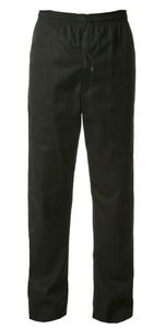 Chef Trousers  Black or Black/White Check