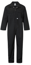 Load image into Gallery viewer, Coverall Zip Front Castle 366