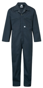 Coverall Zip Front Castle 366
