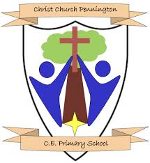 Christchurch Pennington C.E. Primary School P.E. Top with LOGO