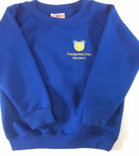 Load image into Gallery viewer, Footprints Day Nursery  Crew Neck Sweatshirt with LOGO