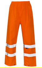 Load image into Gallery viewer, Hi Viz  Over Trousers Yellow or Orange