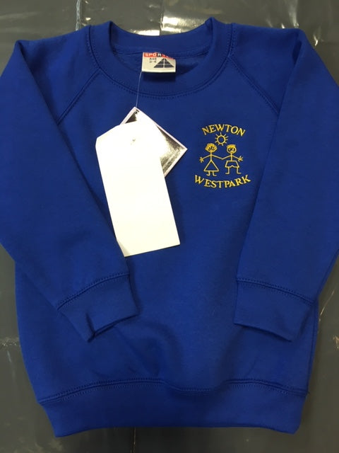 Newton West Park Primary School Sweatshirt with LOGO