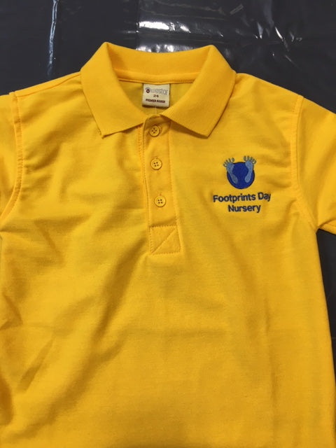 Footprints Day Nursery Polo Top with LOGO