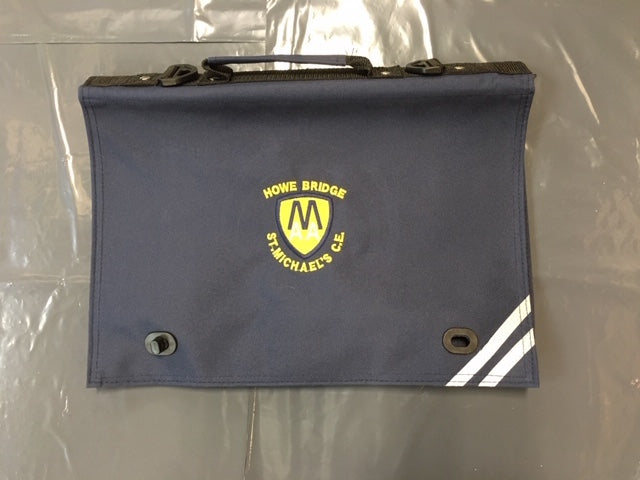 St Michaels C of E Primary School Howe Bridge Bookbag with LOGO