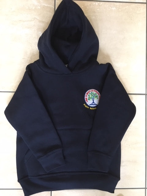Leigh St Marys Outdoor Forest/Hoody with LOGO