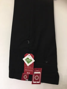 Black Skinny Trousers with Adjustable Waist Boys and Mens