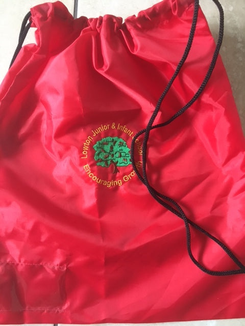 Lowton Junior & Infants P.E. Bag with or without logo