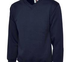 Load image into Gallery viewer, St Michaels C of E Primary School Howe Bridge School V Neck Sweatshirt Year 6 with LOGO