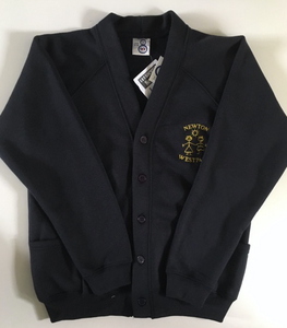 Newton West Park Primary School Year 6 Cardigan with LOGO