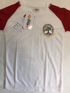 Leigh St Marys Primary School P.E. Top with LOGO