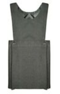 Leigh Central Primary School Grey Bib Pinafore