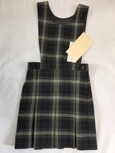 Leigh St John's CE Primary School Tartan Bespoke Pinafore (Optional)