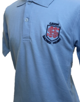 Leigh Sacred Heart Catholic Primary School Polo Top with LOGO