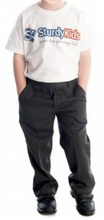 Load image into Gallery viewer, Boys Sturdy Grey Trousers