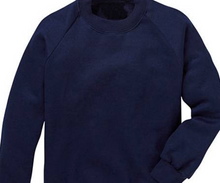 Load image into Gallery viewer, The Beeches Pre School  Sweatshirt with LOGO Navy or Bottle Green