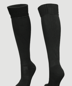 Fred Longworth High School Unisex Black P.E. Socks