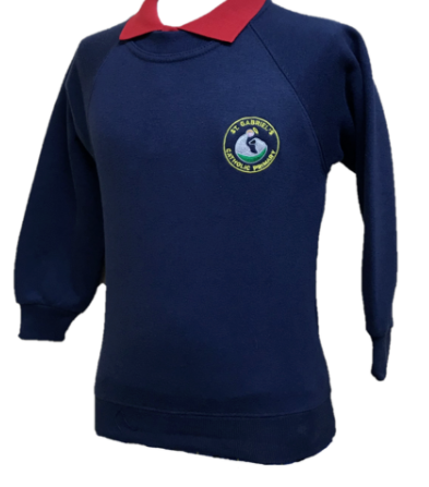 St Gabriels Catholic  Primary School Crew Neck Sweatshirt with LOGO