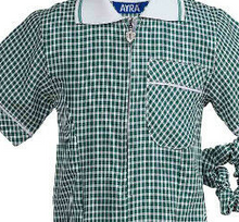 Load image into Gallery viewer, The Beeches Pre School Navy or Bottle Green Gingham Summer Dress