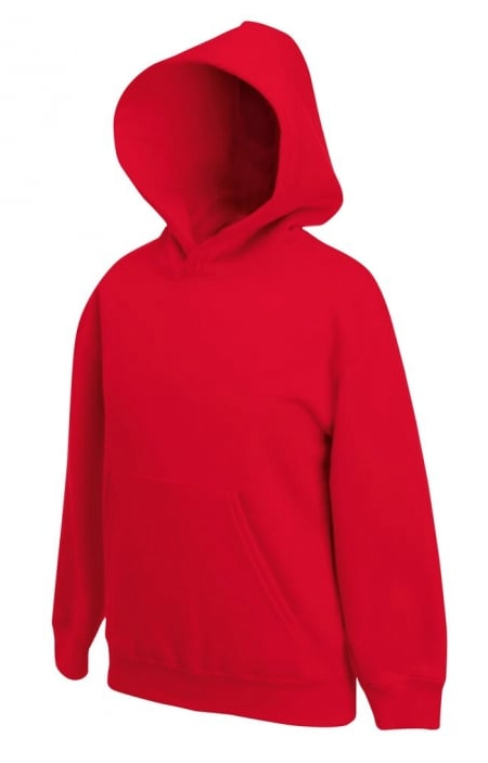 Children's Hooded Sweatshirt Heavyweight 320 gsm Red