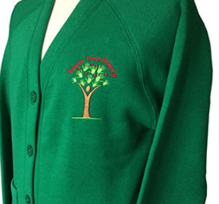 Rowan Tree Primary School Cardigan with LOGO