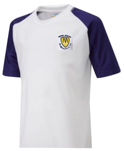St Michaels C of E  Primary School Howe Bridge P.E. Top with logo