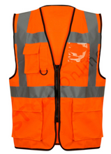 Load image into Gallery viewer, HI VIS EXECUTIVE VEST