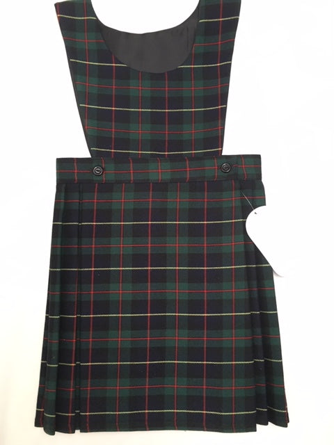 The Beeches Pre School Tartan Pinafore