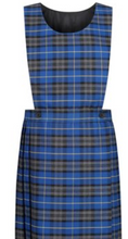 Load image into Gallery viewer, Mid Blue Tartan Royal Pinafore