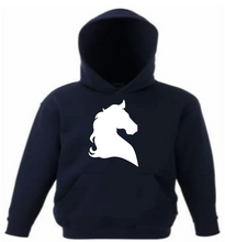 Load image into Gallery viewer, HORSE HEAD DESIGN 1 PRINT HOODY