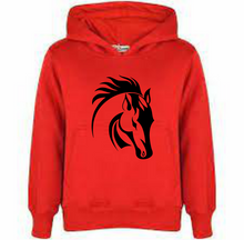 Load image into Gallery viewer, HORSE HEAD DESIGN 2 PRINT HOODY