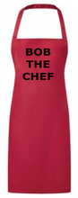 Load image into Gallery viewer, CHEF APRON PR165 CREATE YOUR OWN WORDING