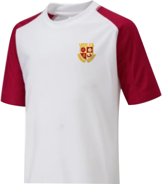 Leigh CE Primary School P.E. Top with Logo