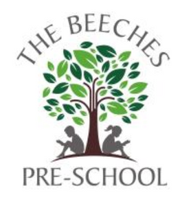 The Beeches Pre School Cardigan with LOGO   Navy or Bottle Green