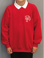 X11 Apostles RC Primary School Crew Neck Sweatshirt with LOGO