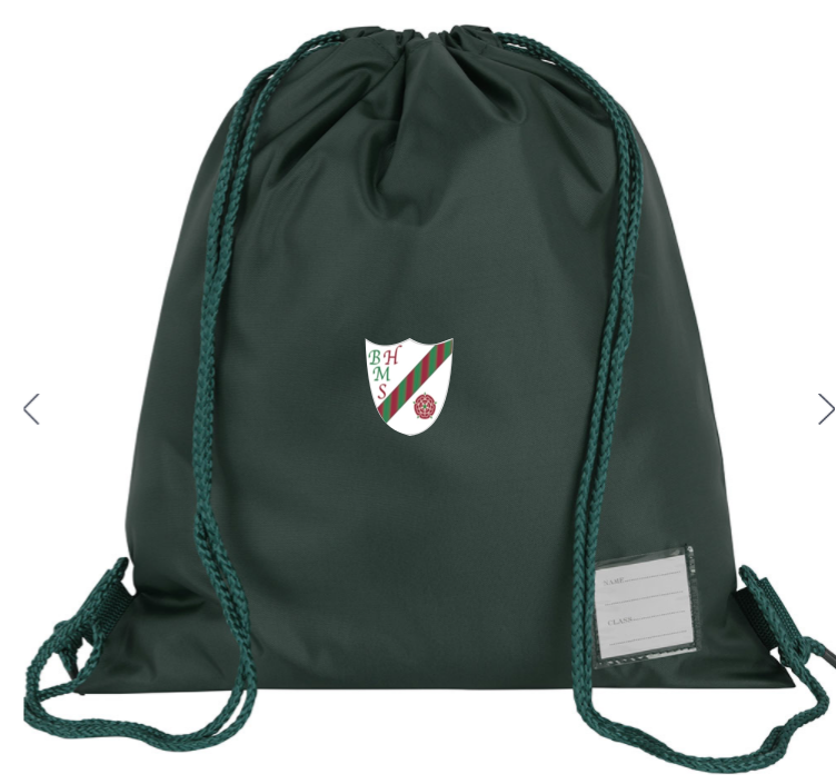 Bedford Hall Methodist P.E. Bag with or without logo