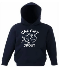 "Load image into Gallery viewer, ""CAUGHT OUT""  PRINT HOODY"