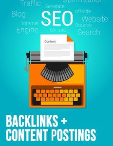 Backlinks + Content Postings