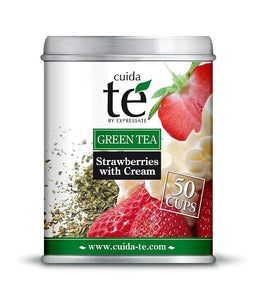 Té Verde - Strawberries with Cream